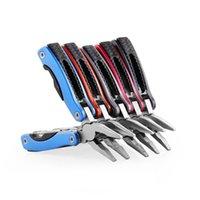 Wholesale Mini Knife in Foldaway Survival Stainless Steel Pocket Knives Multi Tool Mini Folding Survival Pocket Knife