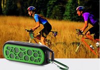 Wholesale Bluetooth speaker Hands free MP3 player Portable Mini Speaker Music Box on bike bicycle support FM SD Call