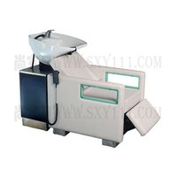 Wholesale shampoo bed salon furniture comfortable salon hairwashing bed white leather with good shape