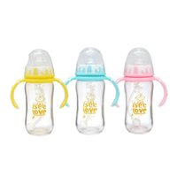 baby bottle ounces - I See Love BPA free Shock Resistant Anti colic Cute Clear Glass Baby Feeding Bottle Set Ounce Pack of Brand New High Quality