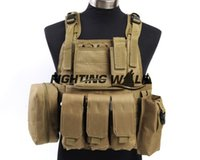 Wholesale Colors Outdoor Airsoft Military Army Hunting Hard wearing Nylon Molle Tactical USMC MOLLE Assault Durable Lightweight Vest