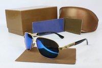 al por mayor lunetas deporte-Italia Moda Hombre Revestimiento Gafas de sol Conducción Deportes Espejos Gafas Gafas de sol lunettes occhiali da marca