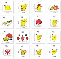 Wholesale 32 Styles Poke go team D Sticker Instinc Mystic Valor Instinct camp Logo wall car pocket monster Pikachu Decal film iphone Sticker B995