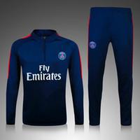 best quality sweatshirts - Top Quality Paris Chandal Psg Soccer training suit sweatshirt and pants survetement Best quality The Champions League training suit