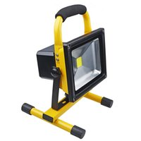 b lights spotlight - Brightness Waterproof IP65 W LED Modes LED Floodlight Portable SpotLights Rechargeable Outdoor LED Work Emergency light Rated b