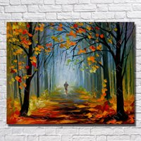 One Panel abstract wall art cheap - Tree Scenery Decorative Wall Painting Home Decoration Cheap Modern Knife Painting Wall Canvas Art