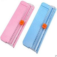 Wholesale hot A4 A5 A6 Size Trimmer Manual Paper Cutter slitting Machine Handmade Slitter