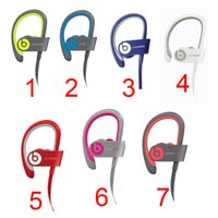 Wholesale 2016 Used Beats powerbeats wireless Active collection headphone noise Cancel Headphones Bluetooth Headset Refurbished with seal retail box