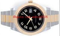 arabic tone - Luxury MEN Watch II Men s Tone mm Watch Black Arabic Dial Men s Watches