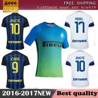 Wholesale 2017 camiseta Reals top thai Inter Milan jersey survetement maillot de men t shirt