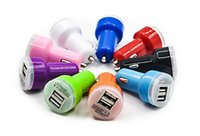 auto choice - High Quality Micro Auto Universal V A Dual USB Car Charger For iPad for iPhone Mini Adapter Color for Choice
