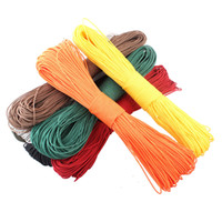 Wholesale 50meters Dia mm one stand Cores Paracord for Survival Parachute Cord Lanyard Camping Climbing Camping Rope Hiking Clothesline