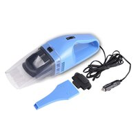 Wholesale 12V W Portable Car Vacuum Cleaner High Power for Wet and Dry White