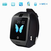 Wholesale 2015 New Bluetooth Smart Watch Waterproof Apro Smartwatch Support NFC SIM Card M Camera For Iphone For Samsung Android Phone