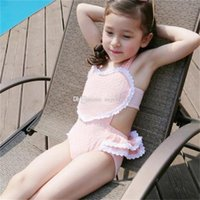 Bikinis Girl go swimming New lovely children princess Heart-shaped Hollow One-Pieces Swimwear+Swimming cap 2pcs set baby kids Swimwear outfits free shipping C786