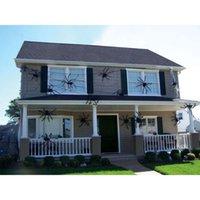 Wholesale Black Spider Halloween Decoration Haunted House Prop Indoor Outdoor Wide NEW KY