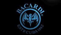 bacardi breezer - LS030 b Bacardi Breezer Bat Bar NEW NR Gift Light Signs jpg