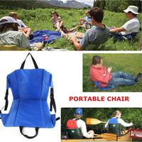 Wholesale convenient Outdoor Hiking Camping Picnics Concert Stadium Folding Beach Seat Chair Protable Crazy Creek Original Chair