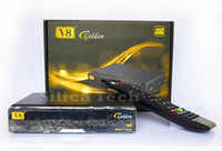 Wholesale Openbox V8 Golden DVB S2 T2 C Satellite Cable Receiver IPTV Youtube DLNA SAT2IP