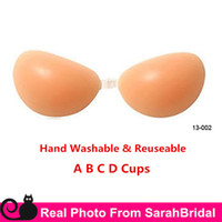 accessories for bra - Hand Washable Nu Bra Sexy Lingerie Push Up Nubra Cheap Bridal Undergarments Underwear Accessories for Strapless Wedding Dresses A B C D Cups