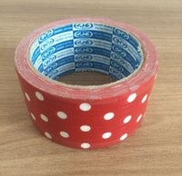 Wholesale 10meter Duct Tape Cloth Tape Single Side Adhesive Durable Waterproof Strong Choose Width