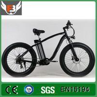 bicycle motor battery - MID Motor Electric Bike Fat Tire E Bike Mountain MTB Electrical Bicycle