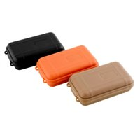 Wholesale 3 COLORS portable Outdoor Plastic Shockproof Waterproof Airtight Survival Case Storage Carry Box Case