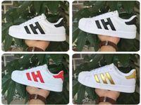 Wholesale 2017 spring and Autumn fashion Men Women Original superstar super shoes golden size Skateboarding shoes Flat shoes