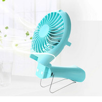 Wholesale Portable Handheld Mermaid Fans Rechargeable Air Conditioner Usb Housing Fan mAH Air Conditioning Foldable Ventilador Fans