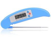 Wholesale New Digital Electronic BBQ Thermometer with Collapsible Internal Probe Colors without logo