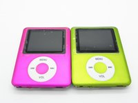 Wholesale New portable mini sport MP4 music player mp4 inch Screen Support Micro SD Card FM recorder