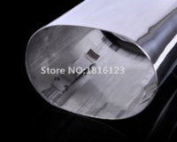 auto exhaust tips - 1pcs High quality Stainless Steel Car Exhaust Muffler Tip Pipes for BMW E90 E91 E92 E93 i d New Auto Accessories