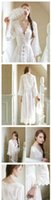 beautiful nightgowns - 2016Pure Sexy Long Nightwear White Lace Vintage Princess Dress Medieval Nightgown European style Palace Robe Beautiful Vestidos