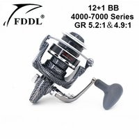 ball bearing load - FDDL DT4000 Series Fishing Reels BB Ball Bearing and Ratio Aluminum Pre Loading Spinning Fishing Wheel