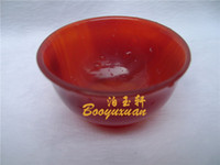 agate lamp - Wrap silk red agate jade lamp jade cup bowl of jade jade cup furnishing articles high quality natural Brazil agate pure manual pol