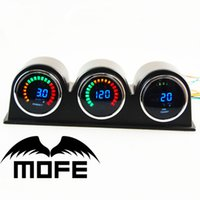 air pods - SPECIAL OFFER MOFE Original Logo mm LCD quot Gauge Meter With Gauge Holder Pod Oil Press Turbo Boost Air Fuel Ratio