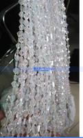 acrylic finish - New diamond cylindrical acrylic beaded wedding curtain finished curtain line curtain color crystal tree
