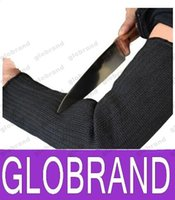 Wholesale CUT RESISTANT ANTI FOLDING KNIFE CUT TEARING ABRASION SAFETY WORKING PROTECTIVE ARM GLOVES AND PROTECT ARMS Work Gloves GLO767