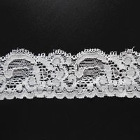 Cheap Popular stretch lace trim drop shipping with 90% nylon 10% spandex use to wedding dress,underwear,pants and so on.