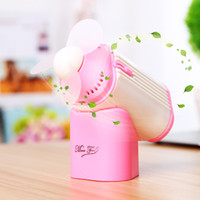 Wholesale Mini Portable Perfume Turbine Fan Air Cleaning Cooling Aroma Charming Handheld USB Charging Office Dormitory Silent