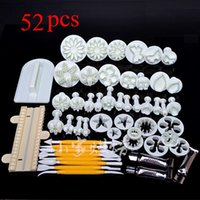 Wholesale Cake Tools Sugarcraft Cake Decorating Fondant Icing Plunger Cutters Tools Mold Mould Biscuit Cookies Cutter