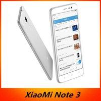 Bon choix Original Xiaomi Redmi Note 3 Téléphone portable FDD MTK Helio X10 Octa Core MIUI7 Corps métallique à empreintes digitales 5,5 '' 2 Go RAM 16 Go ROM 4000 mAh