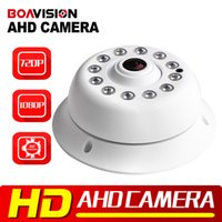 Wholesale High Definition Security CCTV P P MP Panorama Dome AHD Camera Fisheye With IR CUT Night Vision m IR Full Degree View Angle