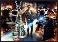 ancient robots - Doctor Who Dalek Robot Pendant Necklace Alien Robot Mysterious Ancient Silver Pendant Jewelry Statement Necklace Pendant