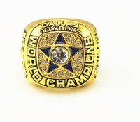 super bowl ring - Replica D allas Cowboys Super Bowl sixth in t he world championship ring Replica championship rings