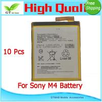 aqua power - 10pcs good testing Full Power Safe High quality battery For Ericsson M4 Aqua E2303 E2333 E2353 Battery