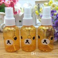 asia skin - New ml Cartoon Rilakkuma Bear Skin Replenishment Perfume Poetable Spray Bottle Makeup Bottle Perfume Bottle Mini Portable Atomizer
