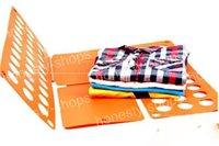 Wholesale 2016 Clothes folder for Adult Size L Shirt Folding Board Flip Fold Shirt Folder Flip Fold Board Quick Press