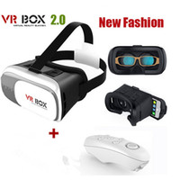 Wholesale VR Box Version Headset D Virtual Reality Movie Glass With Bluetooth Remote Controller For Smart Phones