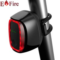 Wholesale Meilan X6 Brand mading Smart Bike Light Bicycle rear back led Light rechargeable CE RHOS FCC MSDS Certification